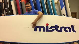 экспертный обзор жесткой SUP-доски Mistral Fiji