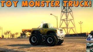 Burnout Paradise | Toy Monster Truck!