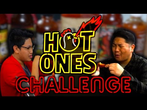 HOT ONES FANS - SPICY WINGS CHALLENGE!!!