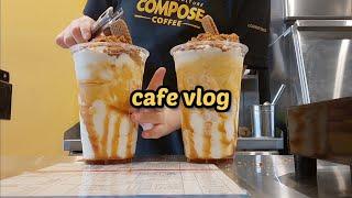 [cafe vlog]여기가 바로 커피 맛집 | 카페브이…