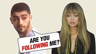 Gigi Hadid STALKING Ex Zayn Malik Or Visiting Him?