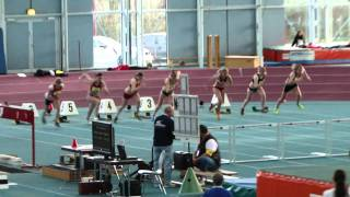 Hessische Hallen-Meisterschaften 2011 Jg.A - Lisa Magel - 60m Hürden FINALE