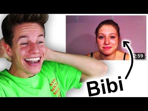 Meine Reaktion auf Bibi's 1. YouTube-Kanal