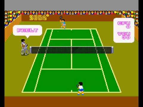 Sega Master System: Super Tennis