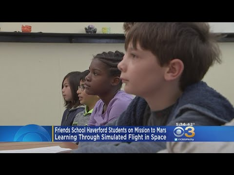 Friends School Haverford Students Experience Simulated Flight In Space