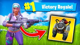 Fortnite English-ASSAULT RIFLE CHALLENGE AND WE FOUND JET PACK: O