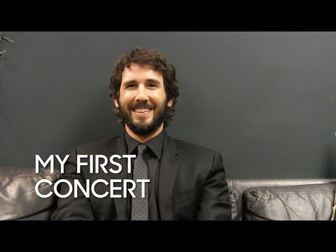 My First Concert: Josh Groban
