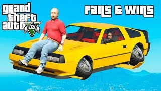 GTA 5 FAILS & WINS #15 (Best GTA V Funny Moments Compilation)