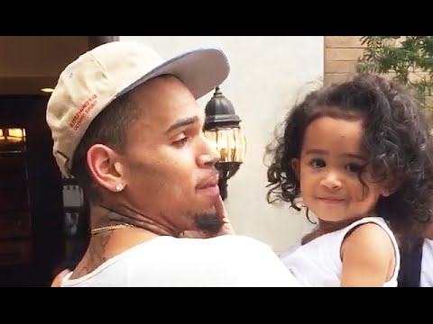 Chris Brown Reunites With Royalty After Custody Battle VIDEO