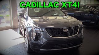 2019 Cadillac XT4: FIRST LOOK REVIEW   Exterior & Interior Design