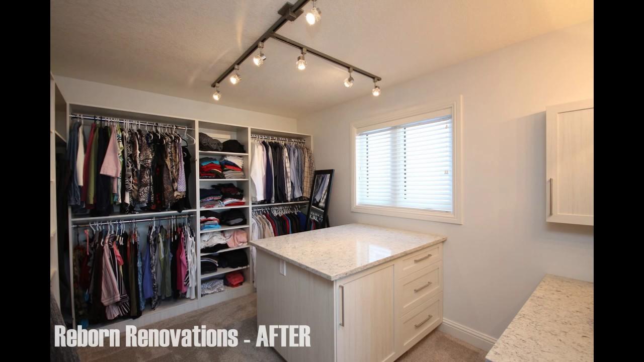 Closet Renovations U0026 Custom Closets   Reborn Renovations