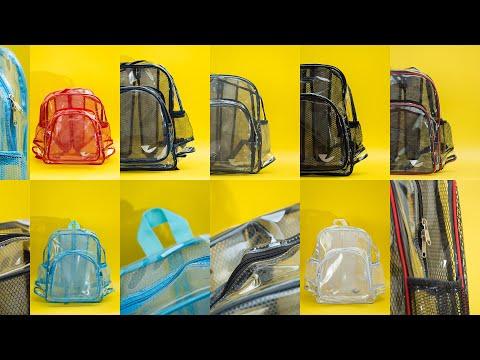 Tas Ransel Transparan v1.0   Ziper Online Transparent Bag Expertise