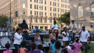 Go(s) Band at DC Praise in the Park 2014 (7-26-2014) (Gospel Gogo)