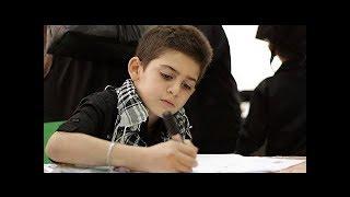Çocuk dünyayı sallayan Hz. Muhammed'in resmini