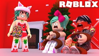 🎄MAMA NOEL TORTURA US WITHOUT PITY IN ROBLOX😱