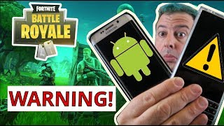 Fortnite for Android APK download WARNING - Know this BEFORE installing Fortnite on Android