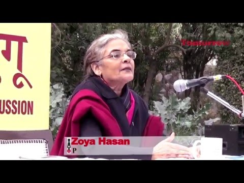 Prof. Zoya Hasan on Intolerance and Secularism