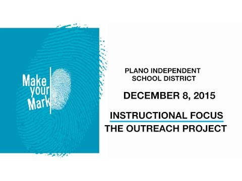 Instructional Focus - December 8, 2015 - The Outreach Project