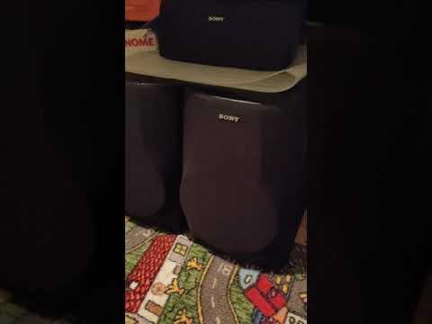 SONY SS-H991 приятный звук....