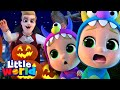 Be Careful When Trick or Treating! | Halloween Song | Kids Songs & Nursery Rhymes by Little World