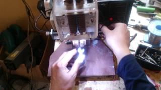 Máy hàn cell pin tự chế DIY Welcoming the cell