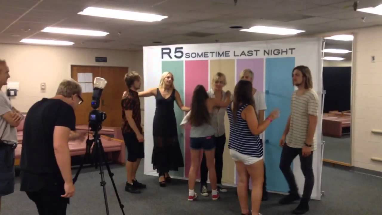 R5 meet and greet video july 12th 2015 youtube m4hsunfo