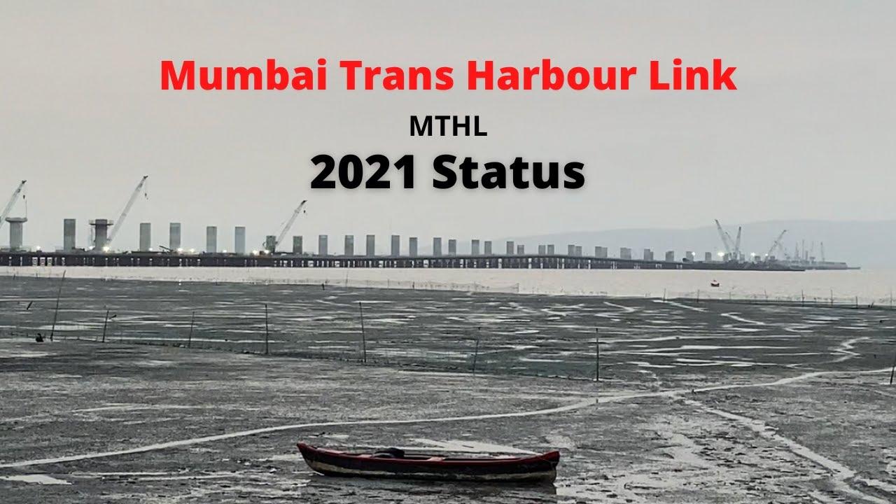 Mumbai Trans Harbour Link   India's Longest Bridge   2021 Status   #shorts   Pranav Narsingh