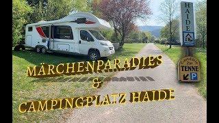 Mit dem Wohnmobil am Neckar entlang I Campingplatz Haide