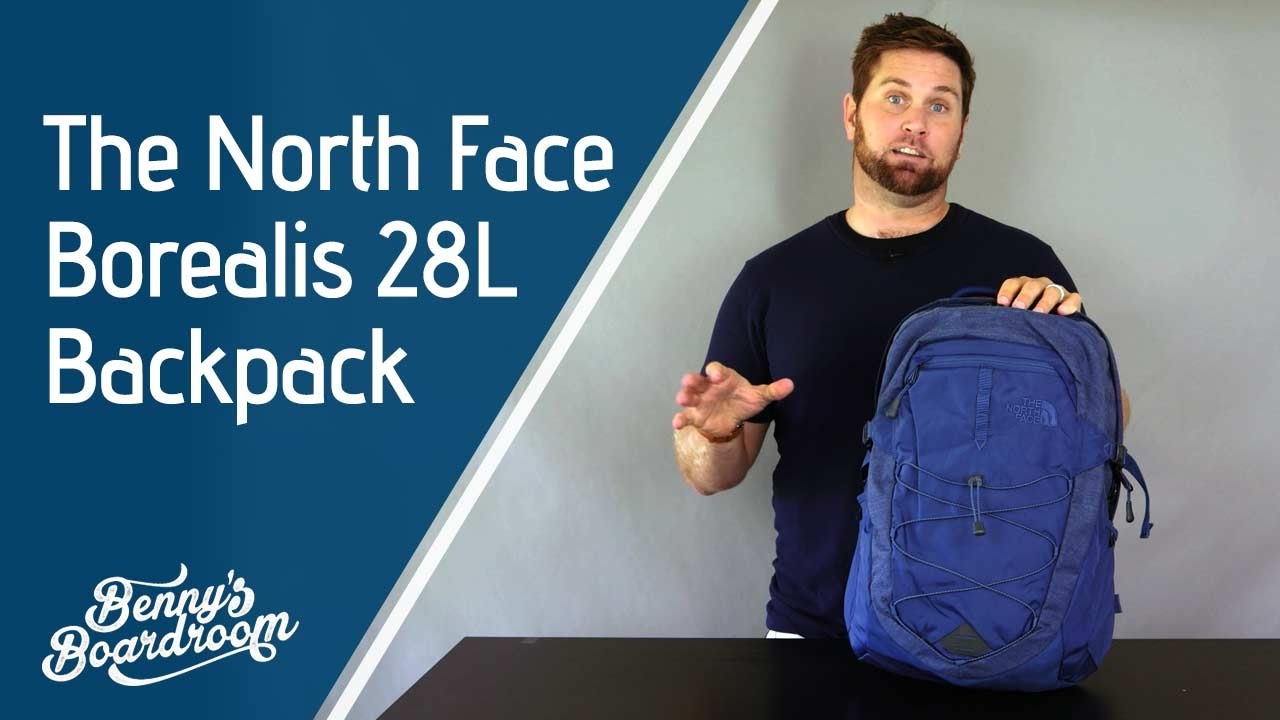 The North Face Borealis Backpack Walkthrough - Benny s Boardroom ... e6ca5dd62416