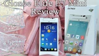 Gionee Elife E7 mini review. Обзор стильного  смартфона с поворотной камерой