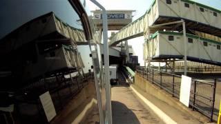Taking a caravan on a cross channel ferry