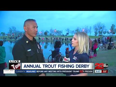 Bakersfield Fire hosts 7th Annual Trout Fishing Derby