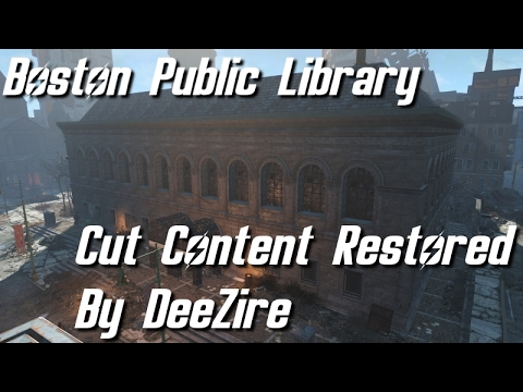 Fallout 4 - Boston Public Library Compressed Data (Cut Content)