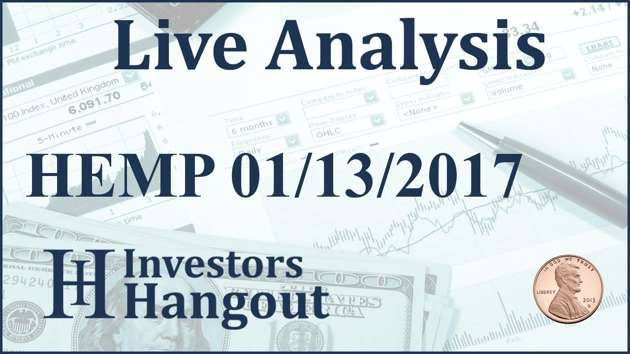Hemp stock live analysis 01 13 2017 youtube hemp stock live analysis 01 13 2017 ccuart Image collections