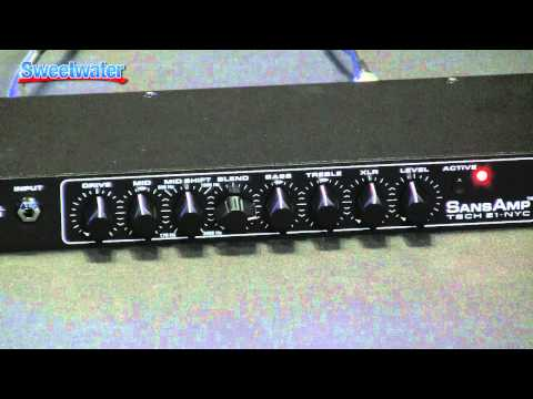 Tech 21 RPM Bass Preamp Demo - Sweetwater Sound