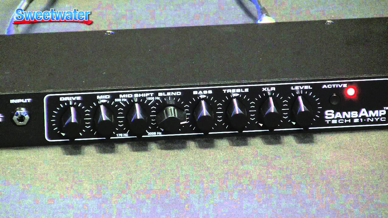 tech 21 rpm bass preamp demo sweetwater sound
