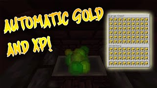 Best Automatic Gold and XP Farm in 1.16 | 600 GOLD/HOUR