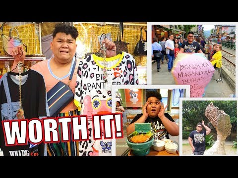 NAUBOS ANG PERA SA TAIWAN (SHOPPING PA MORE!) LC VLOGS #238