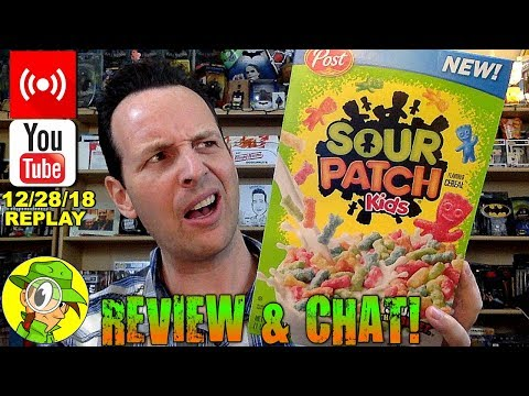 Sour Patch Kids® Cereal | Livestream Replay 12.28.18 🕵️💬🎙️