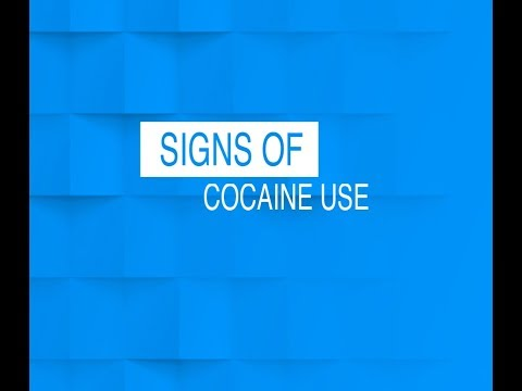 Signs of Cocaine Use