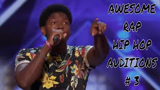 Top 5 Awesome RAP HIP HOP Auditions Worldwide #3 Video