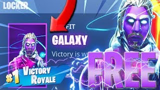 Galaxy Skin FREE 🤑 FREE Fortnite Galaxy SKIN! How To Get The GALAXY Skin For Free!