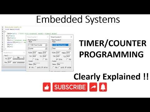 [ES-EN-25] 8051 Timer/Counter Programming -lession-25