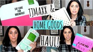 Repeat youtube video TJMAXX & HOME GOODS HAUL! February 2016!