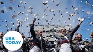 President Trump delivers commencement address to US Military Academy | USA TODAY