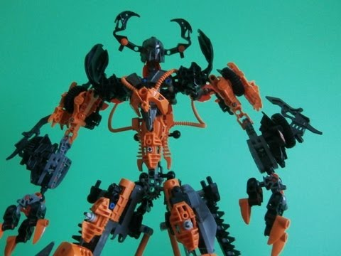 Bionicle Titan Moc Review; Accretius (season 2 upgrade)