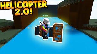 *¡NUEVO* FALLO DE HELICOPTER 2.0! Construir un barco para el tesoro ROBLOX