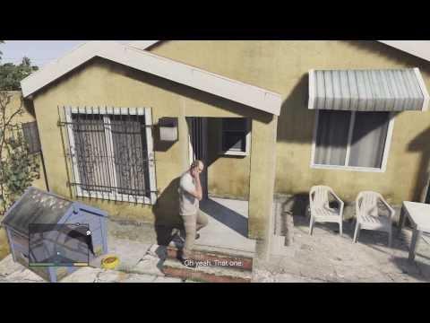 GTA V Walkthrough Part 52- Bury the Hatchet (Stupid Landing Gear)