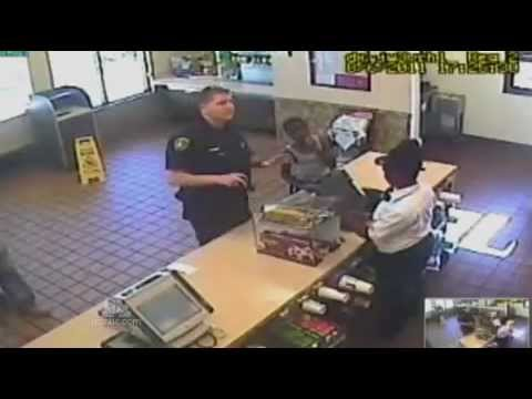 Police Officer's Final Act of Kindness Caught on Tape Before Dying.flv