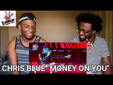 "The Voice 2017 Chris Blue - Finale: ""Money on You"" (REACTION)"